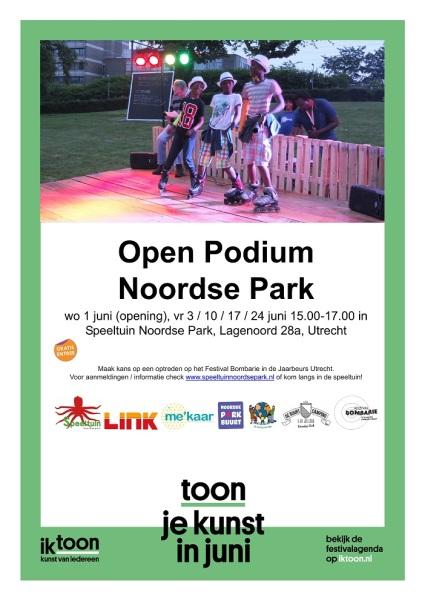 poster_OpenPodiumIkToon_SpeeltuinNoordseParkjuni2016_LR